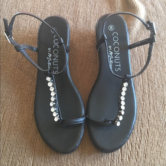 d43230e2e806a coconuts Shoes - Coconut by Matisse Black strappy sandal